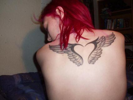 Anges Wings Tattoos Design Image
