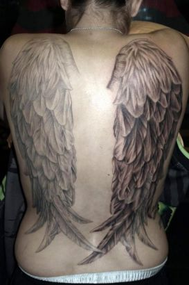 Angel Wings Tattoos Design Images || Tattoo from Itattooz
