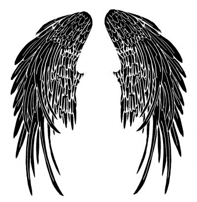 Angel Wings Image Tattoos Desing Pic