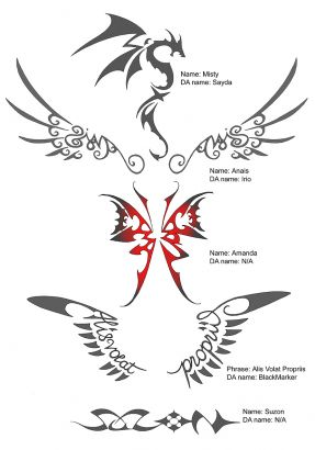 Angel Wings Tattoos Image Pic Design