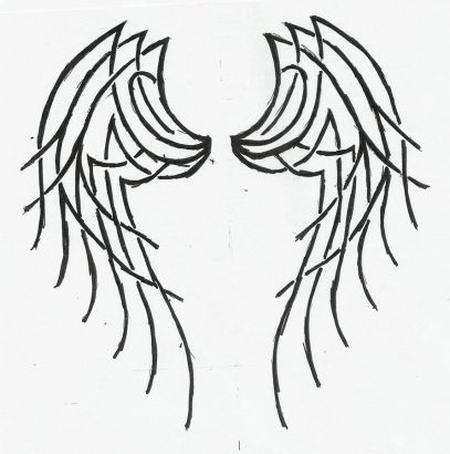 Angel Wings Tattoos Images Pic
