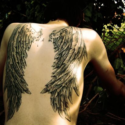 Angel Wings Image Pics Tattoo Gallery