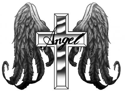 Angel Wing Design Tattoos Angel Wings Back Tattoos Image