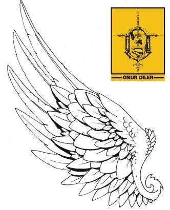 angel wings tattoos gallery image design