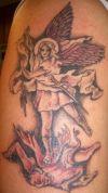 Angel tattoos image design pics
