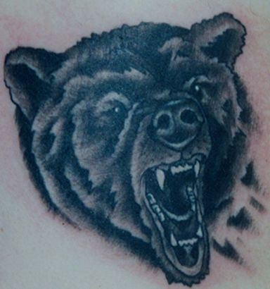 Bear Head Tattoo Pics