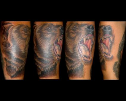 Grizzly Bear Tattoos Design