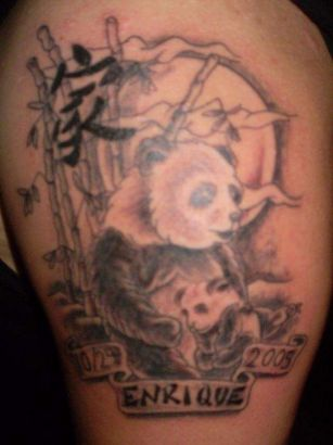 Panda Bear Tattoo Pic