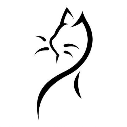 tribal cat image tattoos tattoo from itattooz. Black Bedroom Furniture Sets. Home Design Ideas