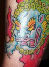 foo dog tattoos pics