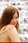 ladybug tattoo for women