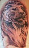 lion tattoo pic