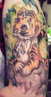 tiger cub tattoo pic