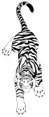 free tiger tattoo