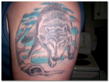 Wolf Pictures Tattoos