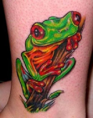 Frog Image Of Tattoo