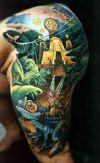 fantasy frog tattoos