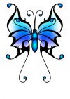 butterfly image tattoos