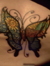 butterfly images of tattoo