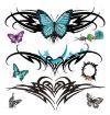 butterfly pic free tattoo