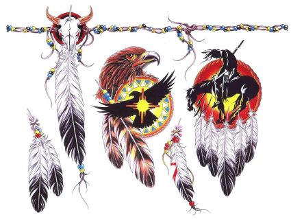 eagle face and feather tattoo tattoo from itattooz. Black Bedroom Furniture Sets. Home Design Ideas