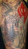 eagle and sikh tattoo