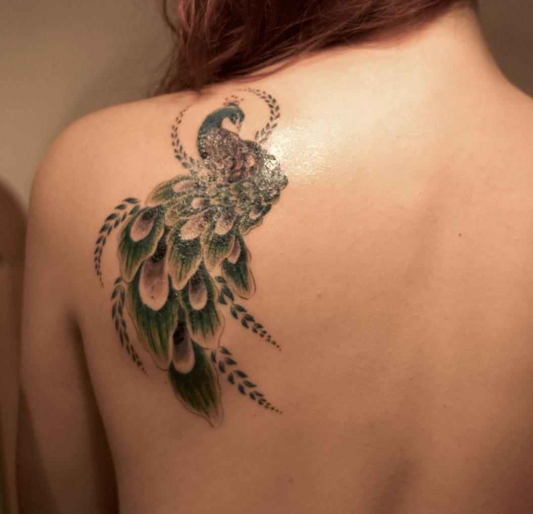 Dragon Tattoo Shoulder Blade Best Tattoo Ideas
