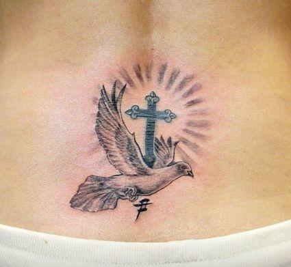 dove tats on lower back tattoo from itattooz. Black Bedroom Furniture Sets. Home Design Ideas