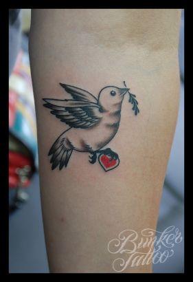 Dove Tattoos On Hand
