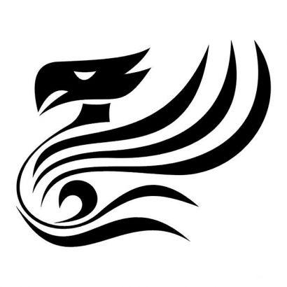tribal bird tattoos tattoo from itattooz. Black Bedroom Furniture Sets. Home Design Ideas