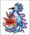 exotic bird pic tattoo