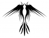 tribal bird pics tattoos