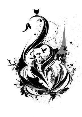 swan tattoo pic tattoo from itattooz. Black Bedroom Furniture Sets. Home Design Ideas