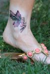 Ankle Tattoo Design
