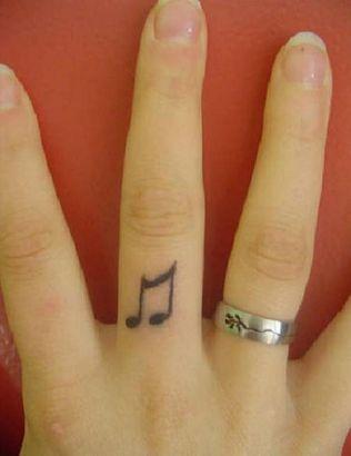 Music Symbol Tattoo