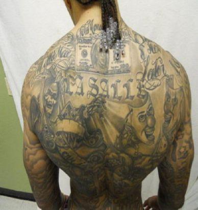 Man full back tattoo tattoo from itattooz for Whole back tattoos