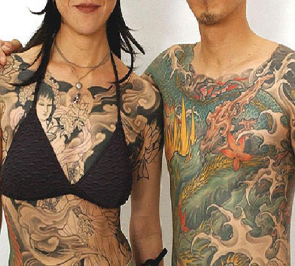 Valuable information japanese full body tattoo female other variant