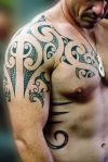 maori tats on shoulder