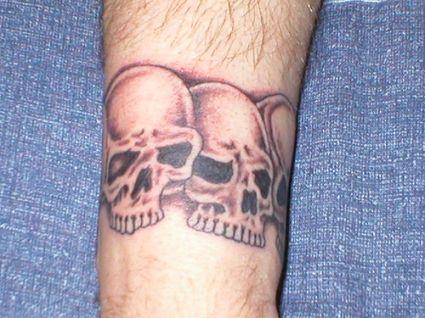 Skull Bracelet Tattoo Skull Wrist Tattoo Design