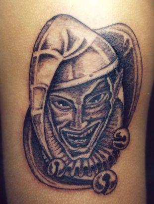 Joker Face Pic Tattoos