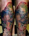 joker batman tattoo