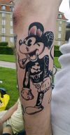 micky mouse pic tattoos on arm
