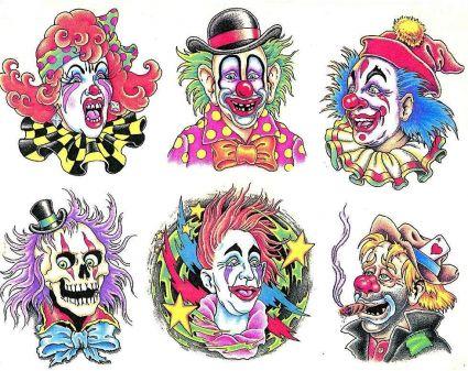 Joker Cartoons Design Tattoo From Itattooz