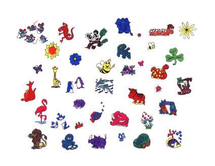 Cartoons small tattoo tattoo from itattooz for Small cartoon tattoo designs