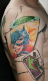Batman tattoo image