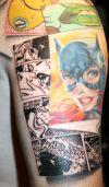 Batman tat image