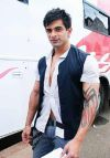 karan singh grover tribal tattoo