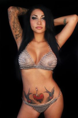 Brittanya O Campo Heart And Bird Tattoo