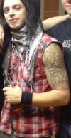 matt tuck left arm close up tattoo