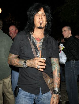 nikki sixx full sleeves tattoos pic tattoo from itattooz